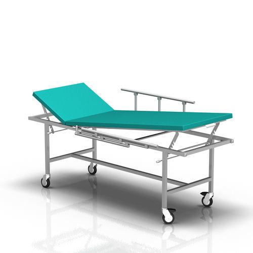 диагностический стол с фиксированной высотой / на роликах / 2 секции