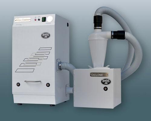 пылеуловитель для фрезерного станка / настольный / с системой фильтрации