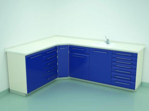 шкаф для стерилизации / для приборов / для операционного зала / с выдвижным ящиком