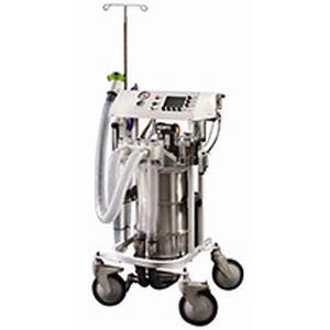 ветеринарная установка для анестезии / на тележке / с вентилятором