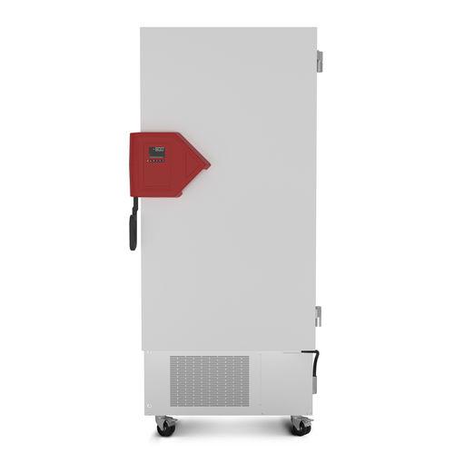 морозильная камера для лаборатории / в виде шкафа / из нержавеющей стали / на роликах