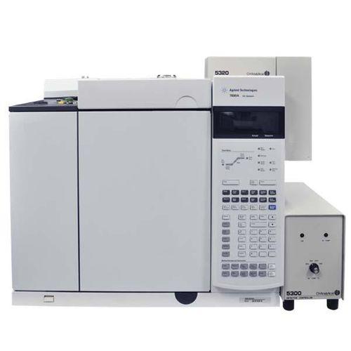 система хроматографии в газовой фазе