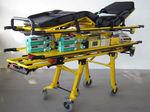 тележка со съемными носилками для машин скорой помощи / электрическая / для неонатального инкубатора