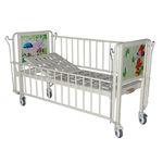 кровать для больниц / ручная / с фиксированной высотой / на роликах