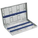 кассета для стерилизации для стоматологических инструментов / из нержавеющей стали