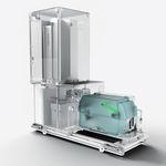 этикетировочная машина для лабораторных трубок / автоматическая / для штрих-кода
