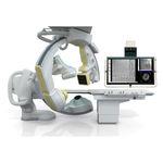 оборудование для флюороскопии / цифровая / для сердечно-сосудистой флюорографии / с усилителем яркости, прикрепленным к полу