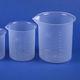 мерный стакан из полипропилена / для лабораторий / градуированный