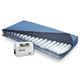 матрас для медицинской кровати / с боковым вращением / с малыми потерями воздуха / антипролежневый