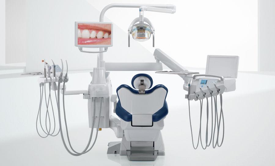 Стоматологическая установка с монитором - S200 - Stern Weber - с освещением