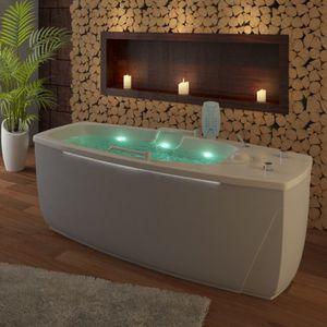 гидромассажная ванна с лампами хромотерапии