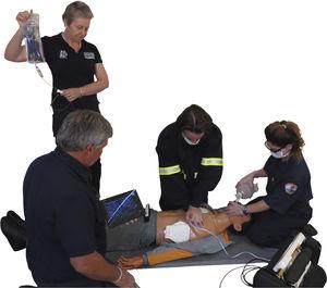 имитационная модель пациента для неотложной медицинской помощи / для интубации / для внутривенных инъекций / все тело