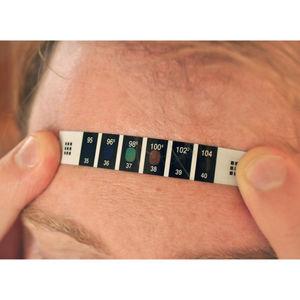 термометр вставка / медицинский / лоб / одноразового применения