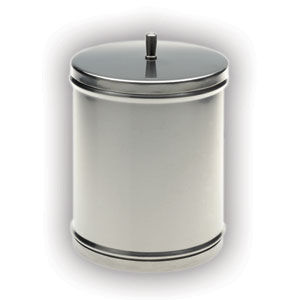 барабан для стерилизации для инструментов / неперфорированный / из нержавеющей стали