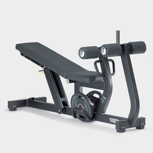 силовой тренажер с тренажером для мышц брюшного пресса