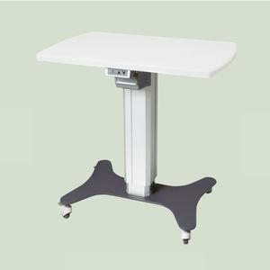 электрический вспомогательный столик / на роликах / с регулируемой высотой