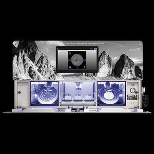 фрезерный станок с двумя камерами
