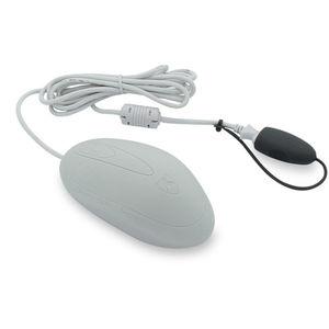 медицинская компьютерная мышь USB / с кнопкой прокрутки / моющаяся / из силикона