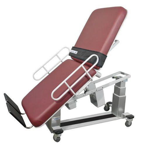 кардиологический диагностический стол / для эхографии / электрический / с регулируемой высотой