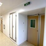 герметичная дверь / раздвижная / для интенсивной терапии / для операционного зала