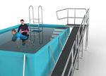 каркасный бассейн для восстановления