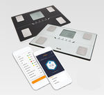 анализатор композиционного состава организма для измерения жировой массы / с дисплеем LCD / с вычислением IMC / bluetooth
