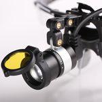 налобная лампа для стоматологии / LED / с заряжаемым аккумулятором / с переносным источником света