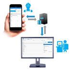 система управления для передачи данных / для лабораторий