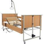 медицинская кровать / для обслуживания пациентов на дому / электрическая / с регулируемой высотой