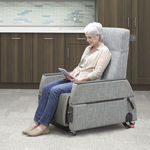общее кресло для осмотра / электрическое / на роликах / откидное