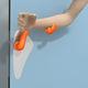 рукоятка для дверей для больниц / из полипропилена / антибактериальный / дезинфицирующий
