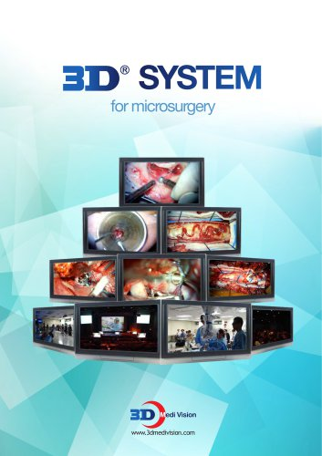 3D SYSTEM for microsurgery