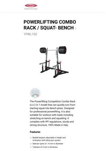 POWERLIFTING COMBO RACK / SQUAT- BENCH