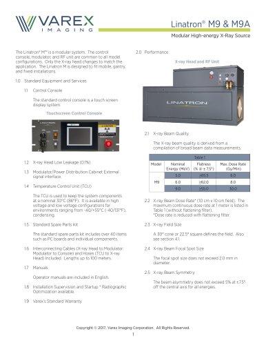 Linatron® M9 & M9A