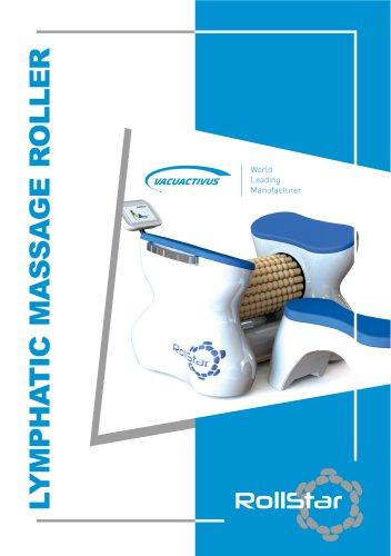 Lymphatic massage roller RollStar