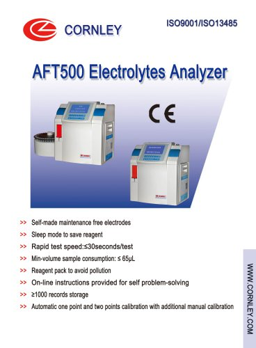 AFT-500 Electrolyte Analyzer