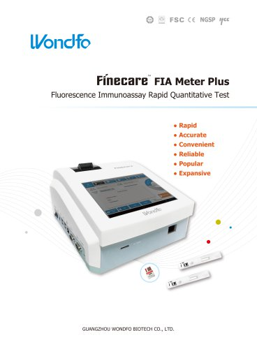 Finecare™ FIA Meter Plus