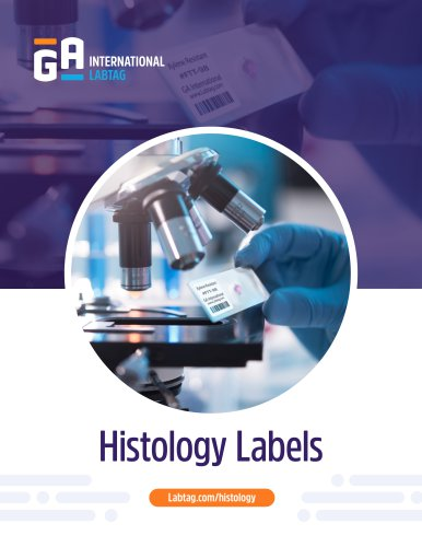 Labels for Histology - Labtag.com