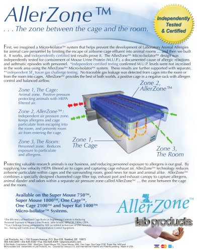 AllerZone Brochure