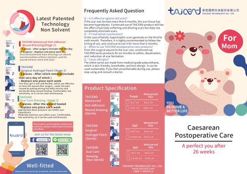 C-section caralog