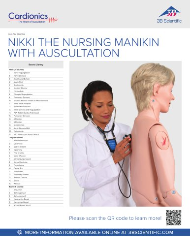 P10CCD auscultation sounds chart