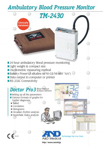 Ambulatory Blood Pressure Monitor TM-2430