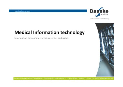 Medical Information technology