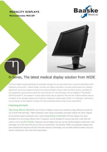 Wide Diagnostic Display MX10P 1MP