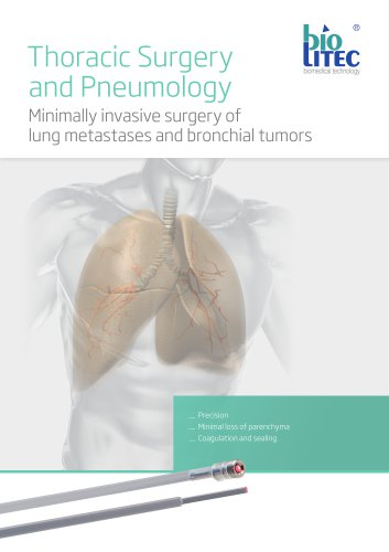 Thoracic Surgery and Pneumology