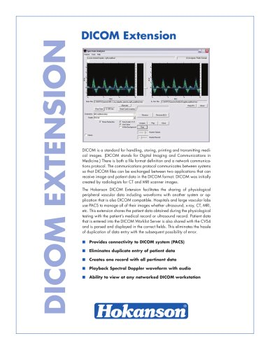 doppler examination platform CVS4 - EN