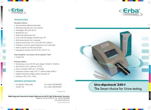 ERBA URO-DIPCHECK 240 E