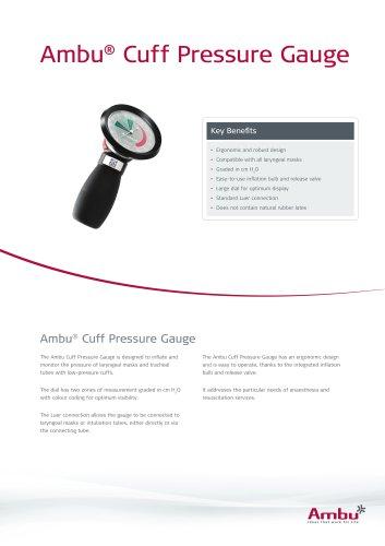Ambu®  Cuff Pressure Gauge