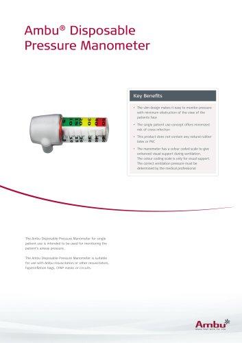 Ambu® Disposable  Pressure Manometer