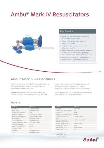 Ambu® Mark IV Resuscitators